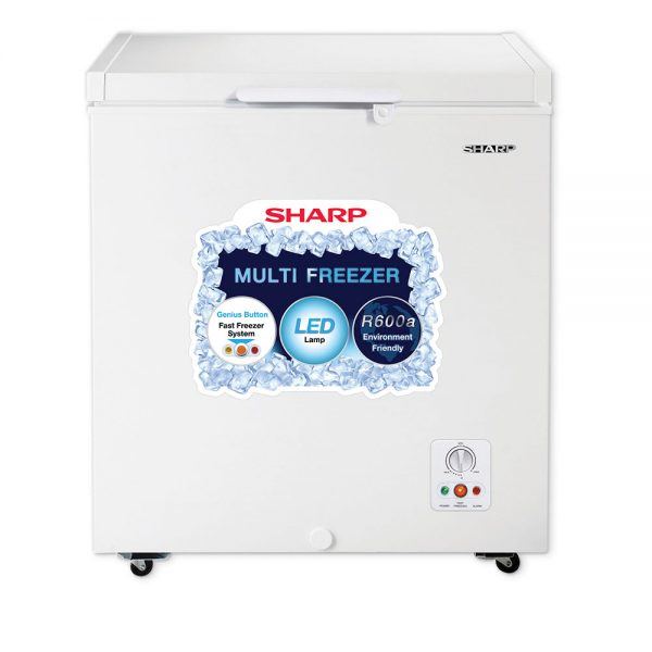 Sharp Freezer SJC-155-WH