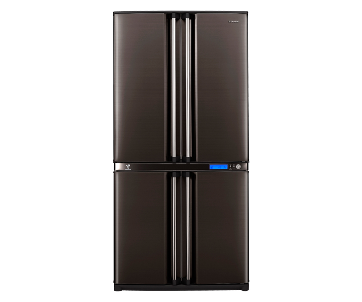 Sharp 4 Door Refrigerator Sj F78sp Bk At Esquire