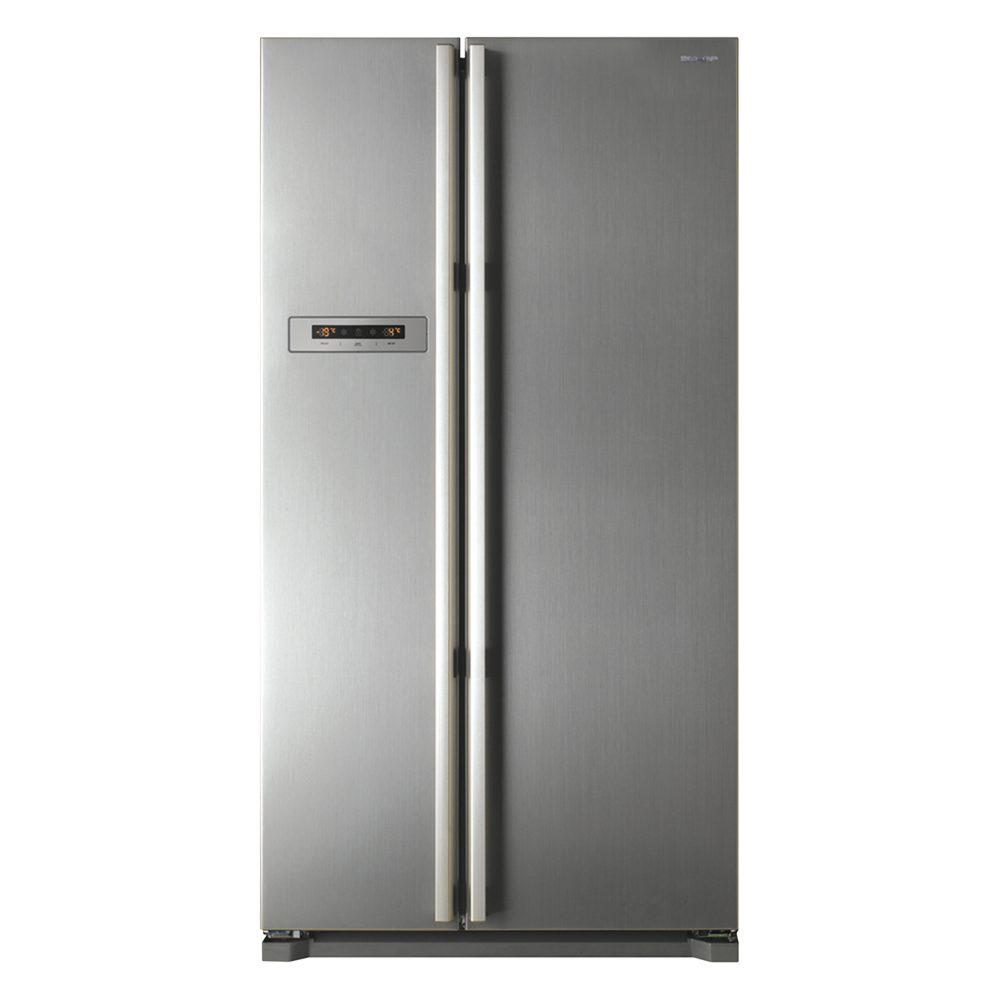 Sharp Side By Side Refrigerator Sj X66st Sl At Esquire