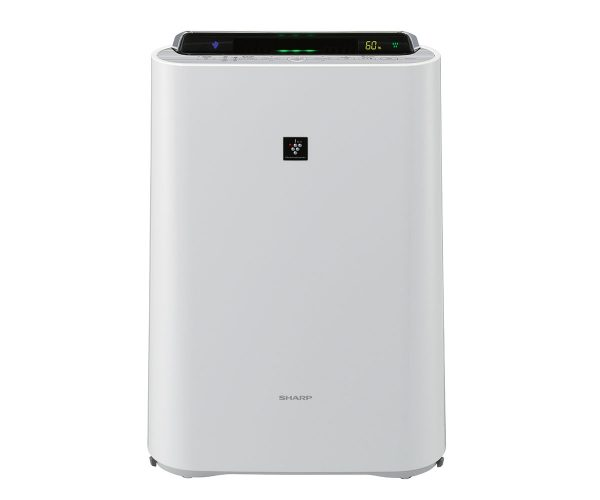 Sharp Air Purifier With Humidifier KC-D40E-W