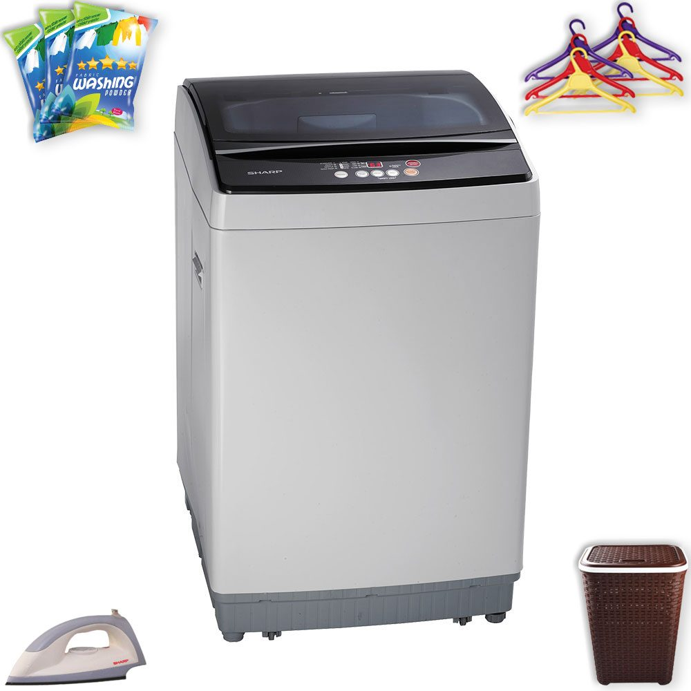 Sharp Full Auto Washing Machine Es X805 At Esquire Electronics