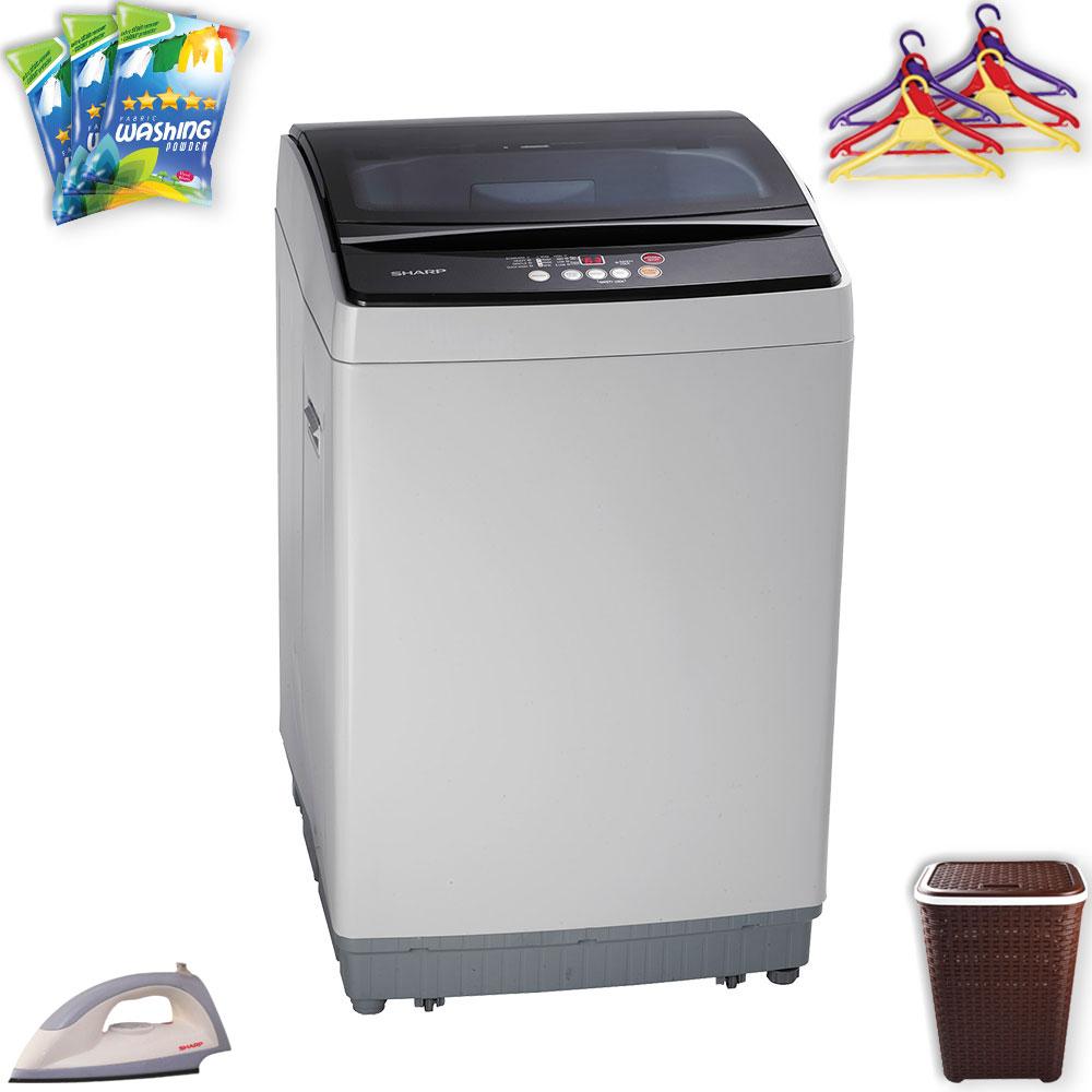 Sharp Full Auto Washing Machine Es X805 At Esquire Electronics