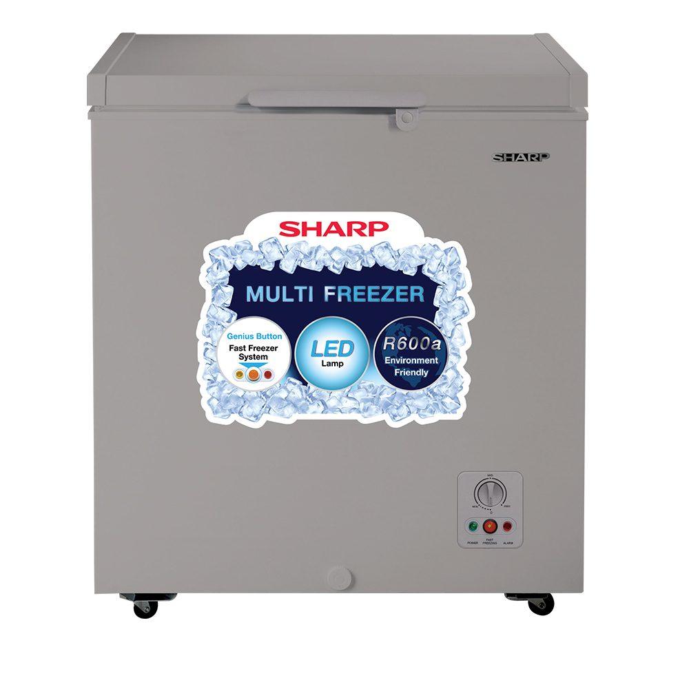 Sharp Freezer SJC-155-GY