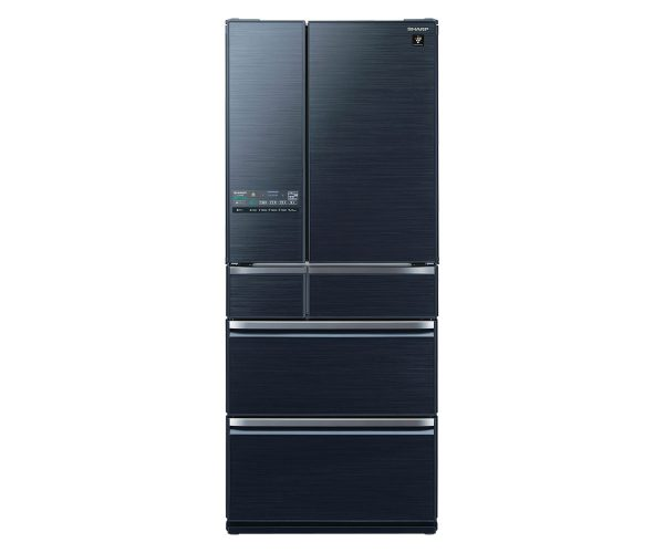 Sharp 6-Door Refrigerator SJ-GF60WAR