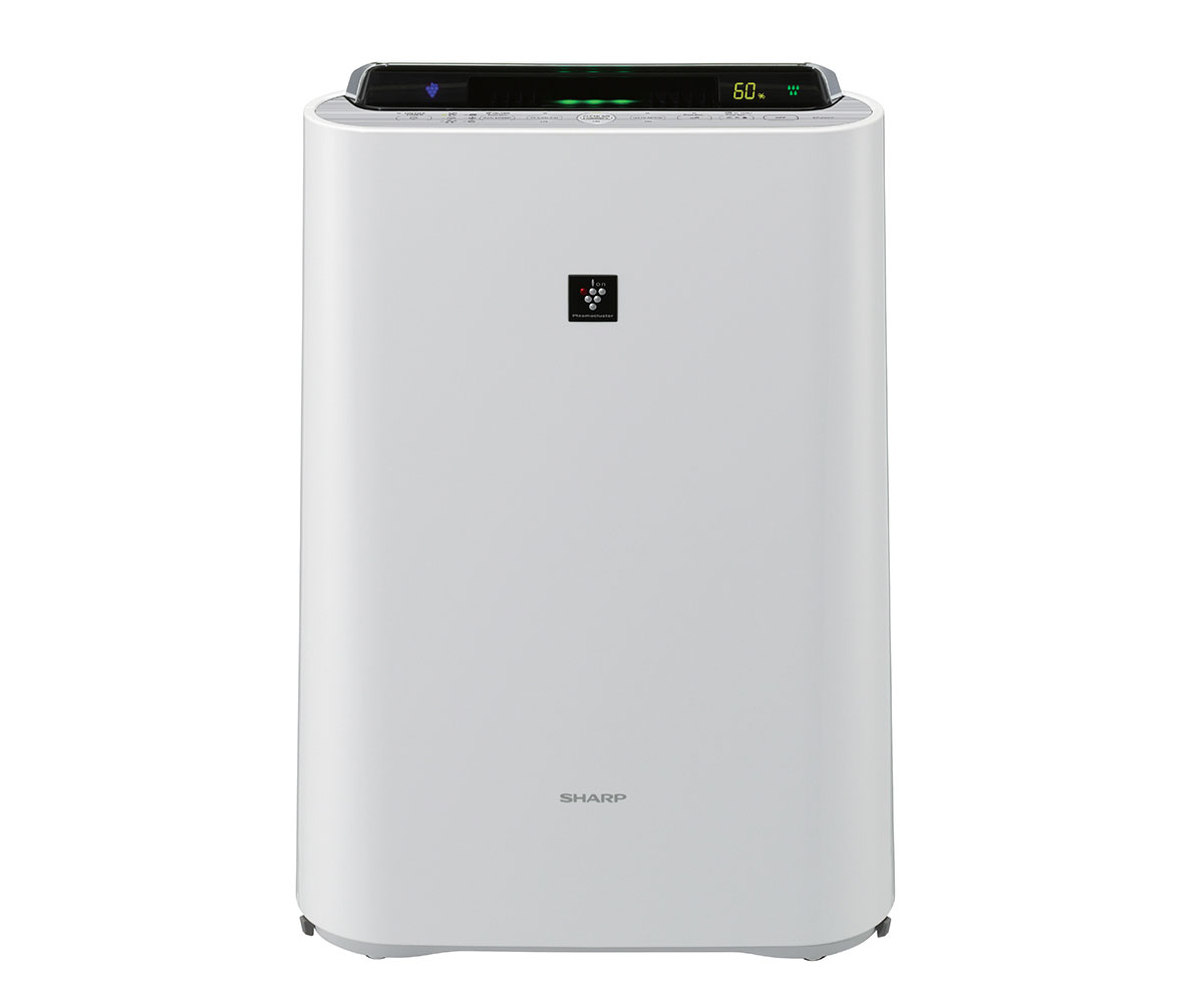 Sharp Air Purifier With Humidifier Kc D60e W Available At Esquire Electronics