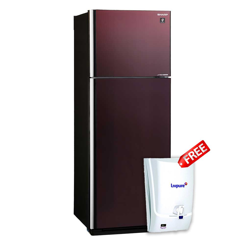 Sharp Refrigerator Sj Ex495p Br At Esquire Electronics Ltd