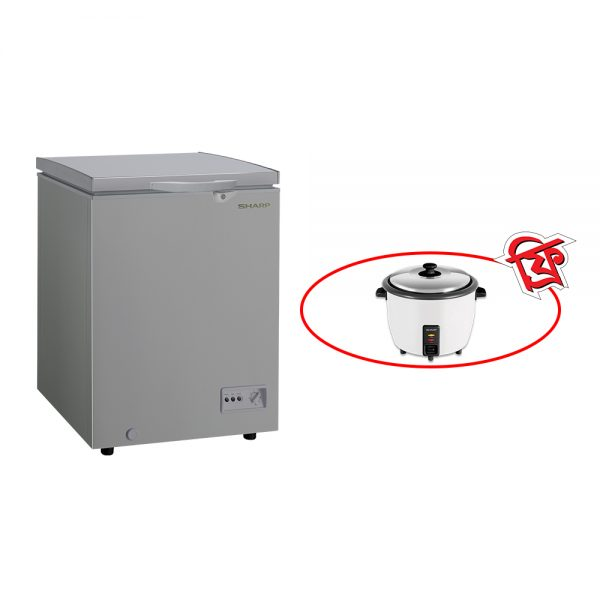 sharp-chest-freezer-sjc-128-gy-ditf2020