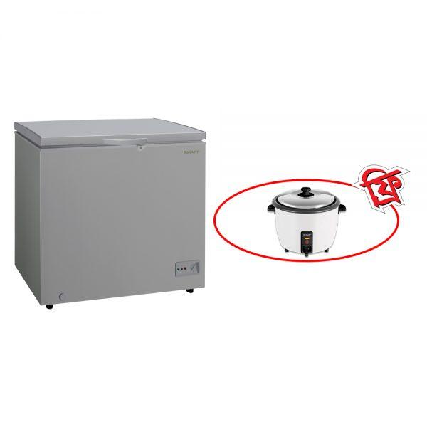 sharp-chest-freezer-sjc-328-gy-ditf2020