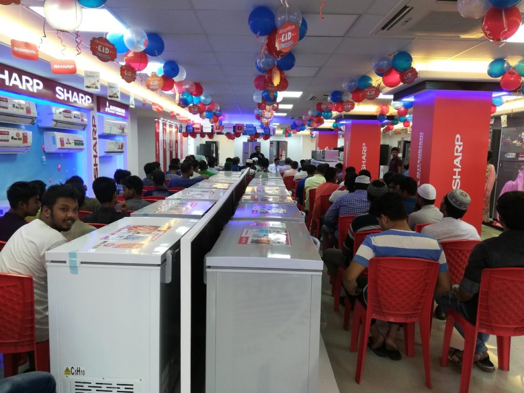 New Esquire Electronics Showroom at Faridpur